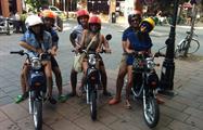 Group Picture, Excursión en Scooter por Montreal