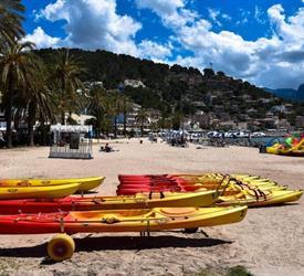 Sea Kayaking at Mallorca, Water Activities in Spain