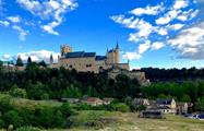 the Alcazar of Segovia - tiqy, Segovia with a Small Group with a Glass of Wine in Your Hand