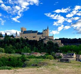 Segovia with a Small Group with a Glass of Wine in Your Hand