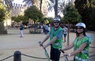 happy travellers in the tour - tiqy, Segway Route in Cordoba