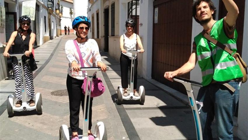 accompanied by a guide - tiqy, Segway Route in Cordoba