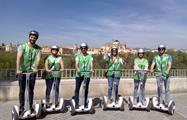 big group of friends doing a tour - tiqy, Segway Route in Cordoba