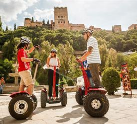 Segway Tour, Tours On Wheels in Granada, Spain