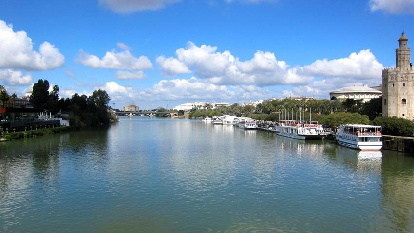 Seville, Seville River Cruise & Walk