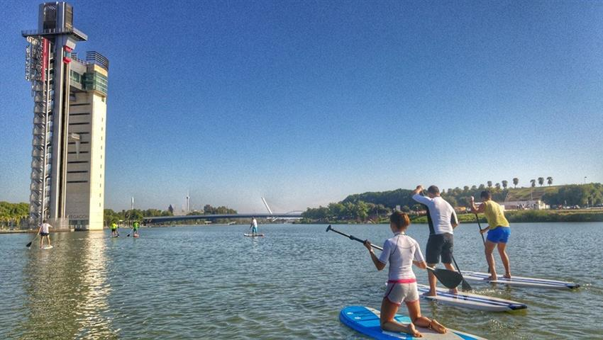 Paddle into the adventure, Seville Stand Up Paddle Surf