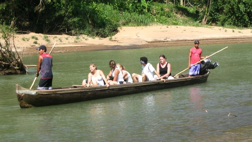 Boat tour though the Yorkin river - Tiqy, Bribri Indigenous Reserve