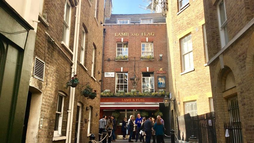 emblematic monuments and places of london, Soho and Covent Garden tour