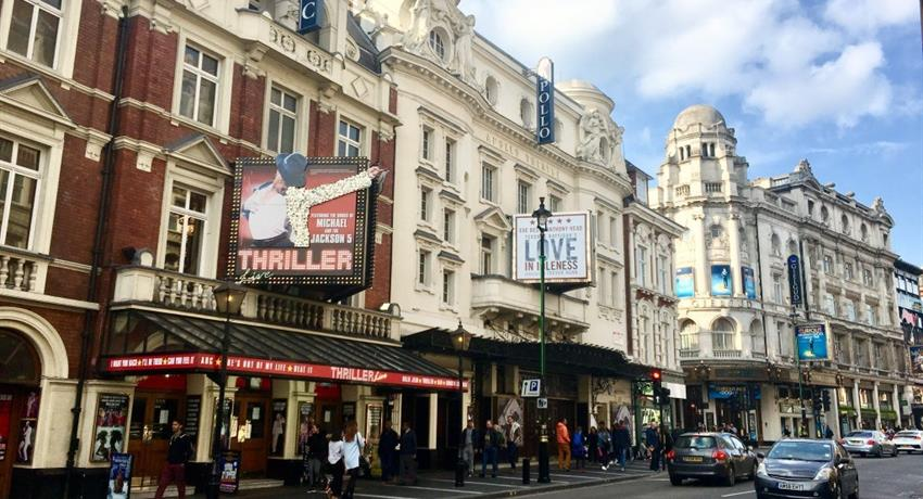 may theaters at london, Soho and Covent Garden tour