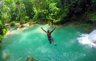 1, Irie Blue Hole Adventure Tour from Kingston