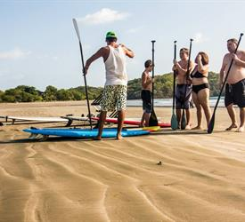 Stand Up Paddle Board Lessons In Playa Venao