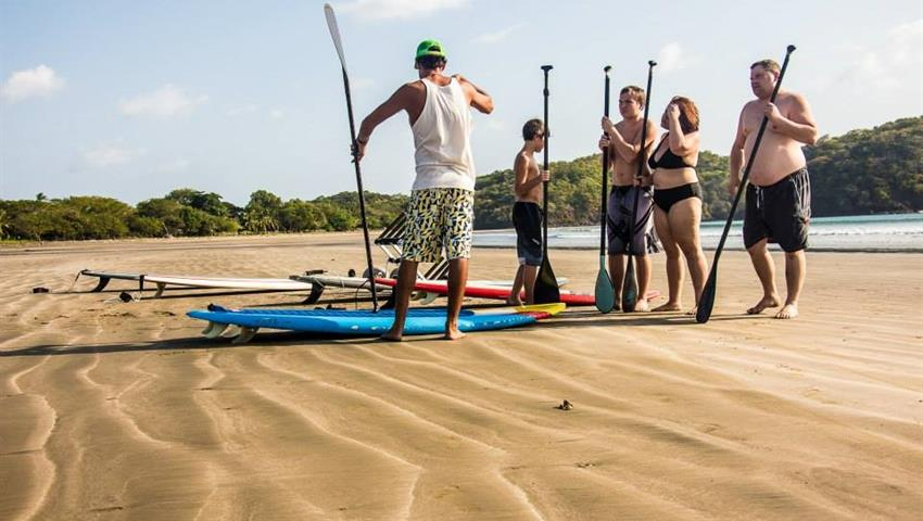 The Classes, Lecciones de Stand up Paddle Board en Playa Venao
