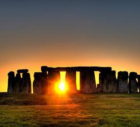 Stonehenge and Cream Tea