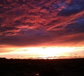 Sunset at Gantheaume Point