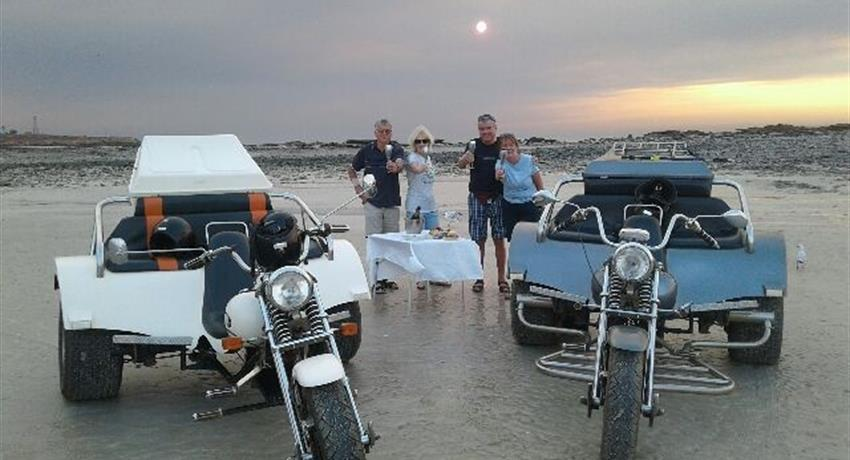 Sunset at Gantheaume Point dinner moto, Sunset at Gantheaume Point