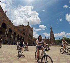 Sunset Bike Tour, City Tours in Sevilla, Spain