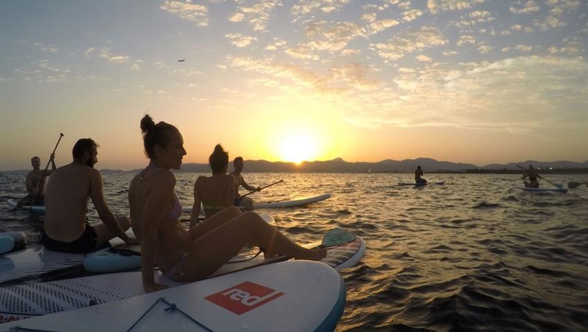 enjoying the sunset - tiqy, Sunset Paddle Tour