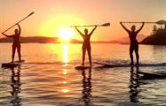 lessons of stand up paddle - tiqy, Sunset Paddle Tour