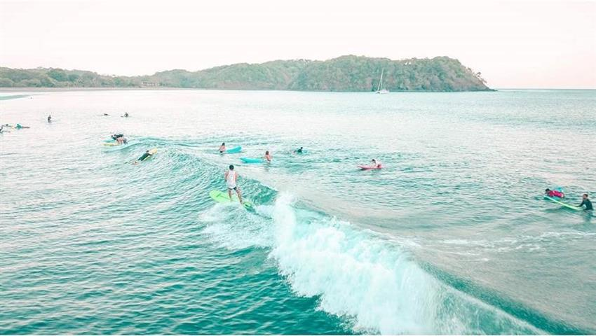 They are waiting for you, Clases de surf en Playa Venao