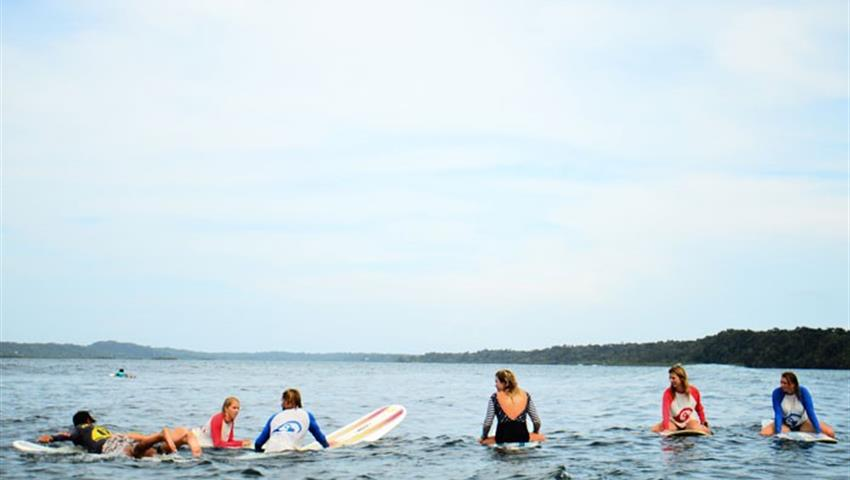 Ready to the learning, Surf Lessons in Bocas del Toro