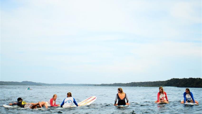 Ready to the learning, Clases de Surf en Bocas del Toro