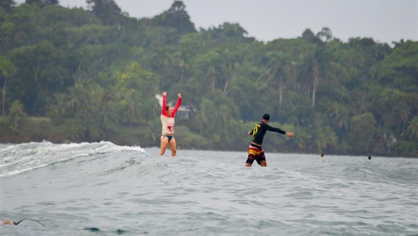 Nothing is more satisfying than the success, Clases de Surf en Bocas del Toro