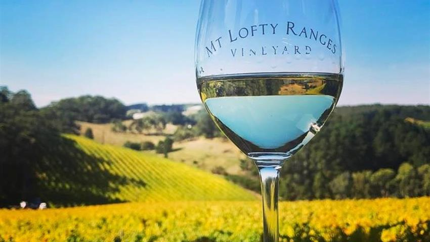 Swan Valley Tours wine glass, Swan Valley Tour