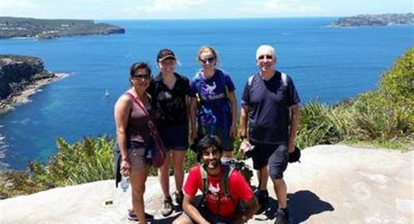Sydney Coast Hike to Manly Beach people, Sydney Coast Hike to Manly