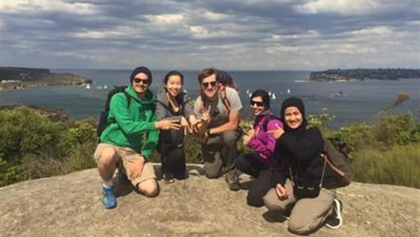 Sydney Coast Hike to Manly Beach group, Sydney Coast Hike to Manly