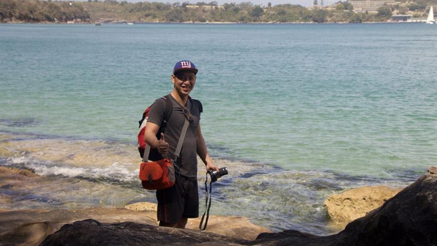 Sydney Coast Hike to Manly Beach man, Sydney Coast Hike to Manly