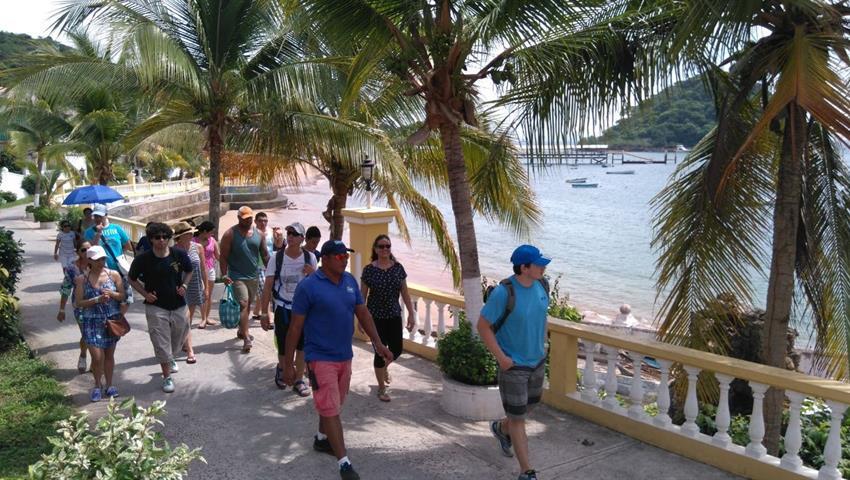 5, Excursión en Isla Taboga