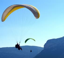 Tandem Paragliding Experience from Barcelona