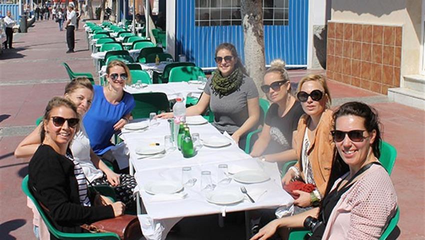 tasting tapas in Malaga - tiqy, Tour de Tapas en Bicicleta