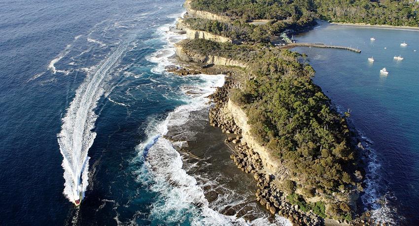 Pirates Bya, Tasman Island Cruises