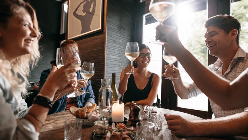 wine evening, Taste of Bordeaux