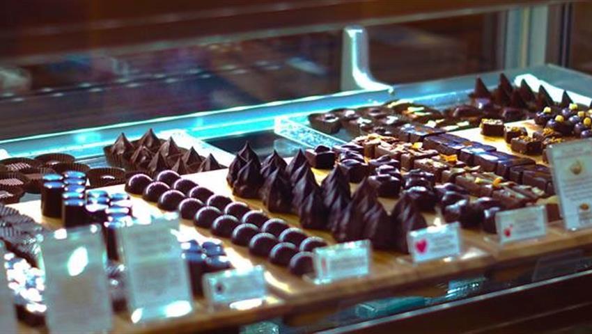 Chocolates,  Sabor de la Destilería