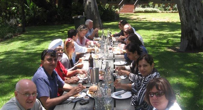 Taste the Barossa Premium Full Day Tour lunch, Taste the Barossa Premium Full Day Tour