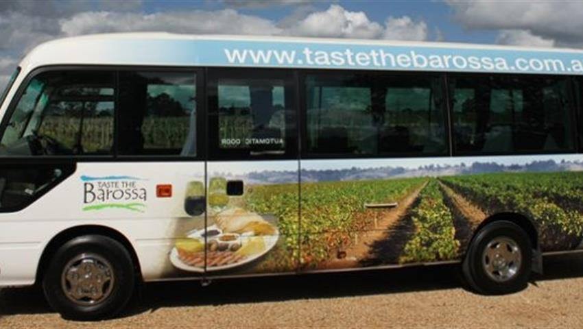 Taste the Barossa Premium Full Day Tour bus, Taste the Barossa Premium Full Day Tour