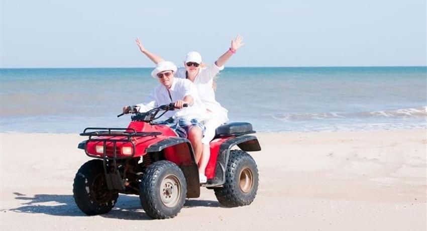 Playa rincon pareja, Aventura Todo Terreno hacia Playa Rincon
