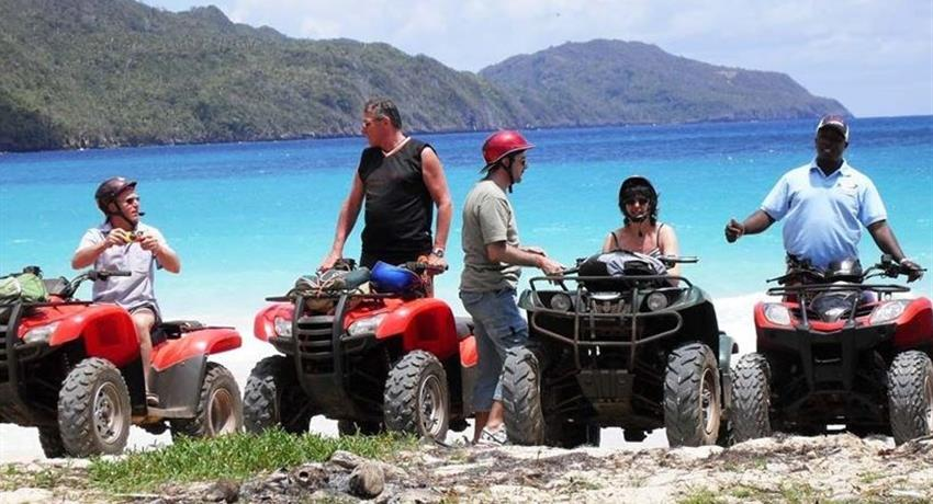 rincon beach atv group, ATV Quad Adventure to Playa Rincon