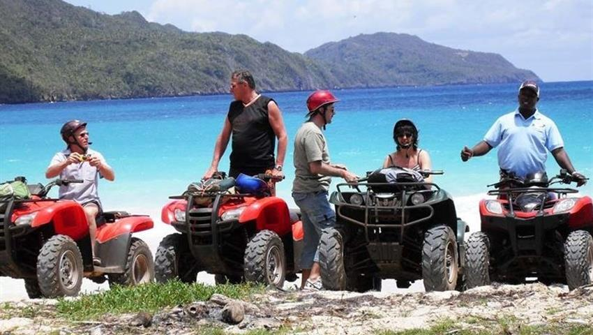 rincon beach atv group, ATV Quad Adventure to Playa Rincon