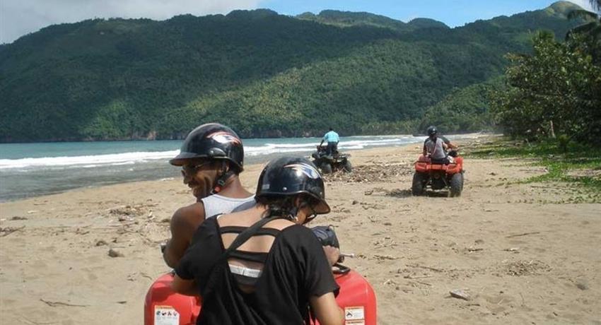 atv in playa rincon paradise, Aventura Todo Terreno hacia Playa Rincon