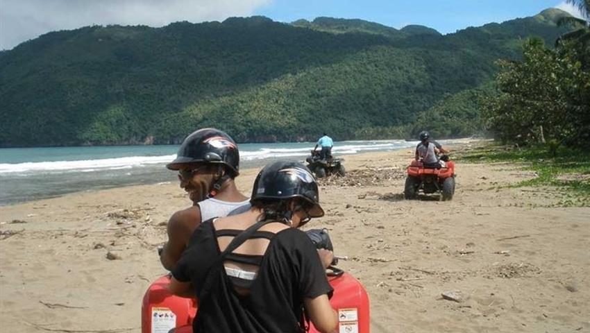 atv in playa rincon paradise, ATV Quad Adventure to Playa Rincon