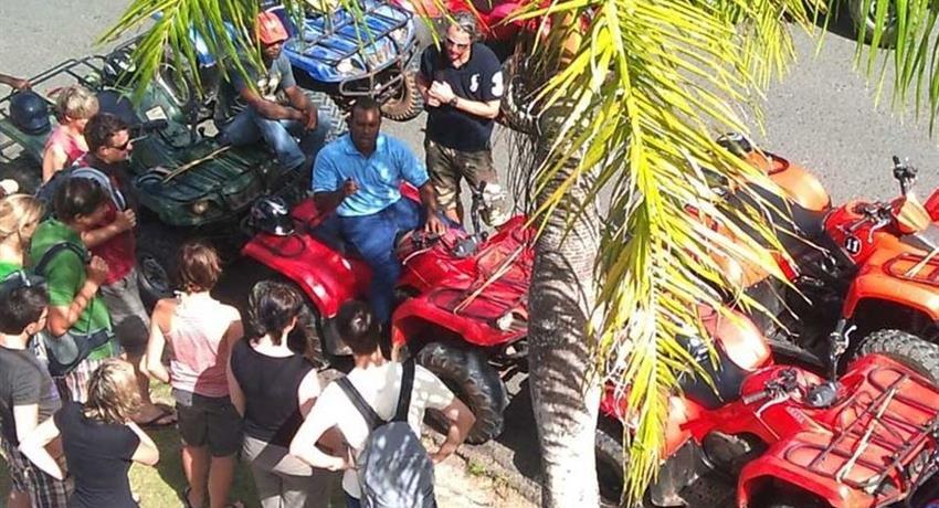 melvin moya atv quad adventure, ATV Quad Adventure to Playa Rincon