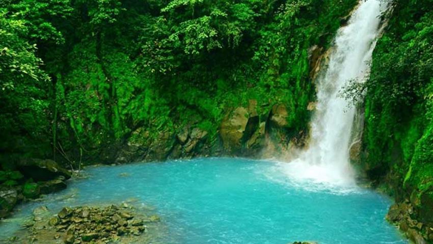 Waterfall, Tenorio Volcano Day Hike