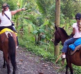 Horse Riding in Mountains Manuel Antonio