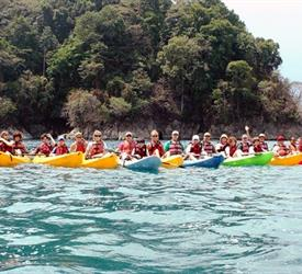 Kayaking on the Coast and Snorkeling