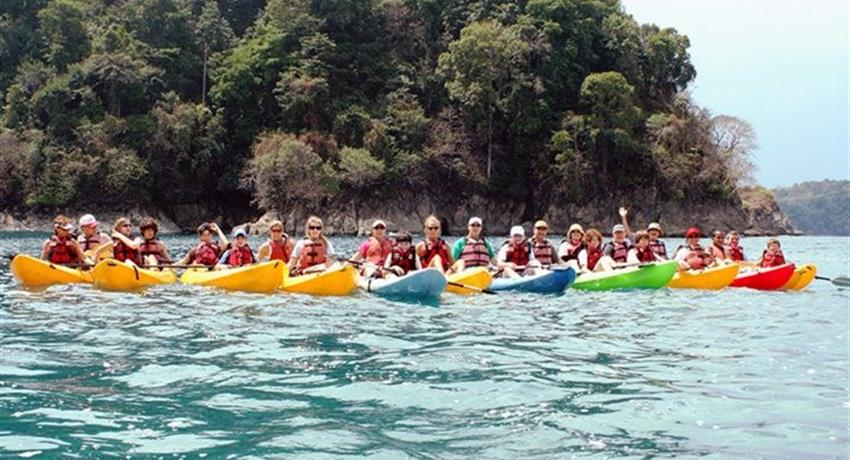 1, Kayaking on the Coast and Snorkeling