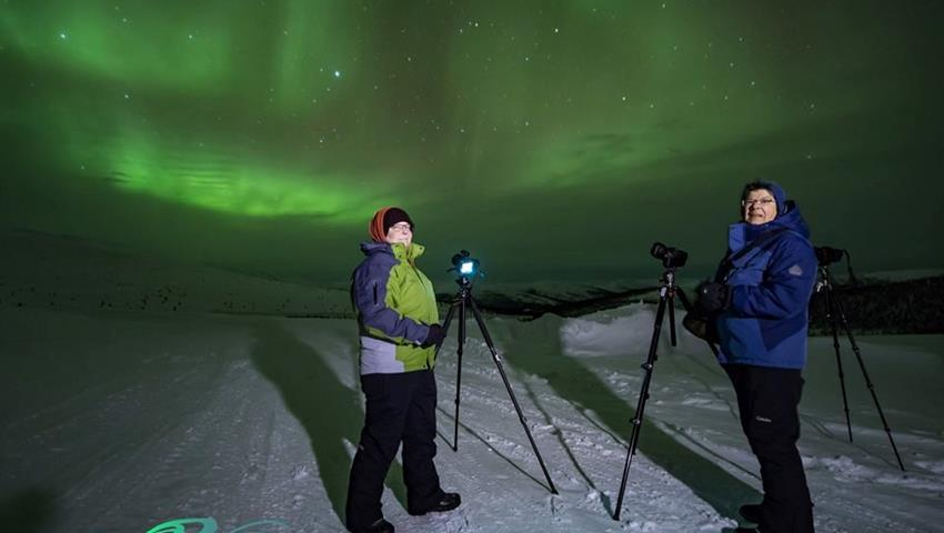 Say Hi to the camera Tiqy, The Aurora Chasers Tour