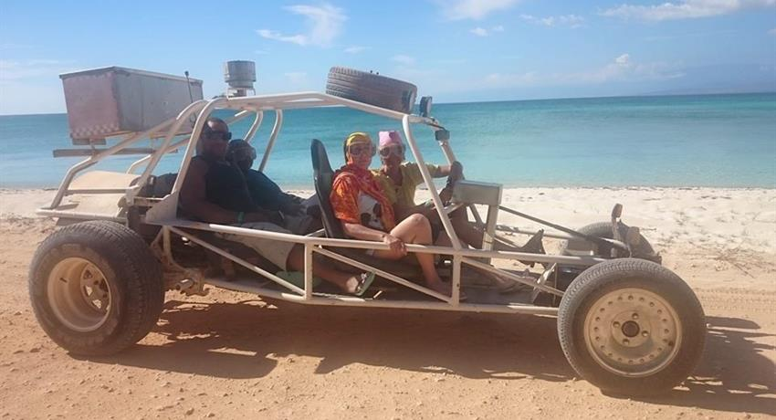 1, The Dune Buggy Tour 4 persons Half Day